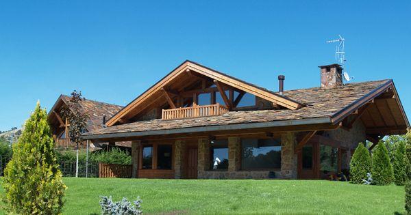 La casa de monta a y amplios porches ideas casa - Apartamentos de montana ...