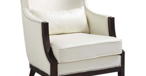 Calcutta Wingback Chair in Ivory | House Ideas | Pinterest | Wingback chairs, Occasional chairs ...
