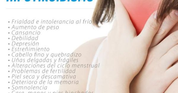 Síntomas del hipotiroidismo, Consulta a un especialista en