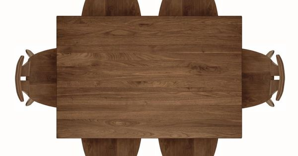Copeland Furniture Audrey Dining Table Top View Front