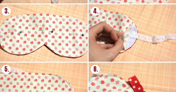 Easy Eye Mask Tutorial that anyone can make! (with pattern) my kids
