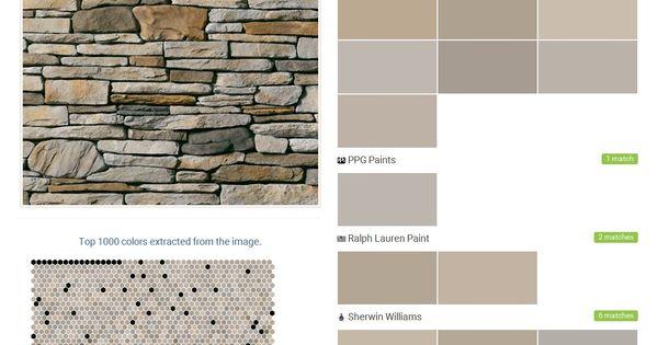 Aspen southern ledgestone cultured stone boral stone for Valspar color visualizer