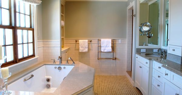 Beautiful Bathroom By Theresa Meyer Of The Stamford Wife Benjamin Moore Paris Rain Paint Color