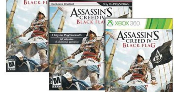 Assassin S Creed Iv Black Flag For Xbox 360 Ps3 Or Wii U Just