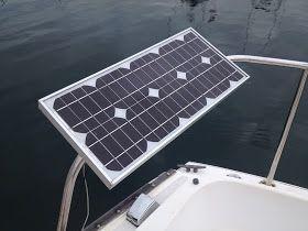 How Much Solar Power Do I Need For My Boat Solar Solar Panels Solar Power