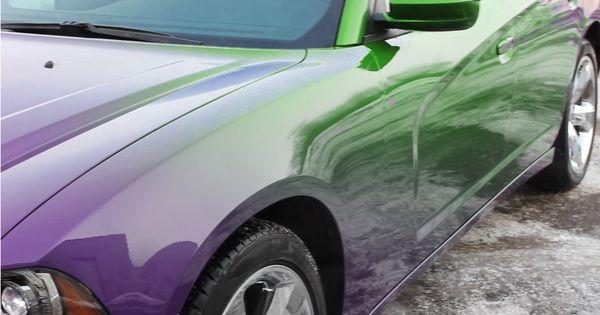 color changing car paint paramagnetic paint 3d