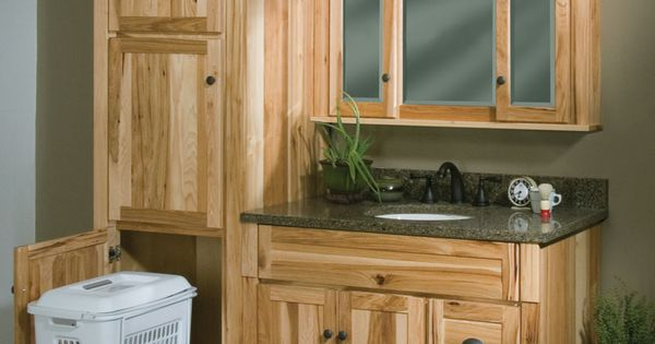 Woodpro Cabinetry Heirloom Collection 42 Quot Vanity Ensemble With Matching Linen Cabinet With