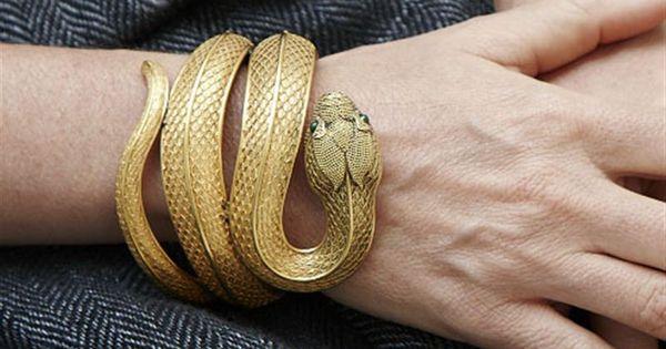 18k gold snake bracelet antique victorian jewelry and adornment pinterest. Black Bedroom Furniture Sets. Home Design Ideas