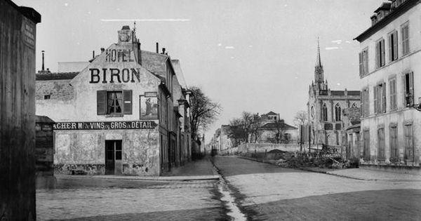 Rue du faubourg st jacques en 1865 par marville alice for Garage du faubourg le quesnoy