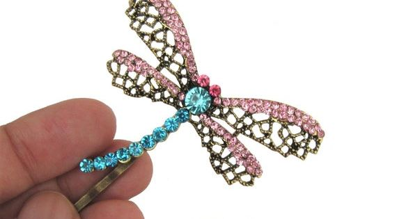 Coraline Dragonfly Hair Clip Bobby Pin Barrette Epingles A Etsy Coraline Etsy Dragonfly