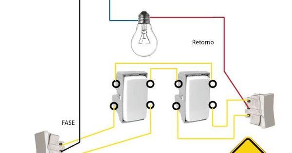 Ligacao De Interruptores Intermediarios 4 Way Faca Voce Mesmo