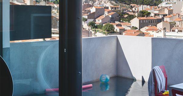 Une piscine en ville dccv pool piscine jardin - Piscine en ville ...