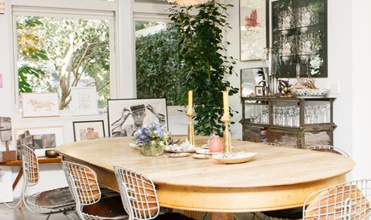 Liseanne frankfurt 39 s dining room via coveteur for M dining room frankfurt