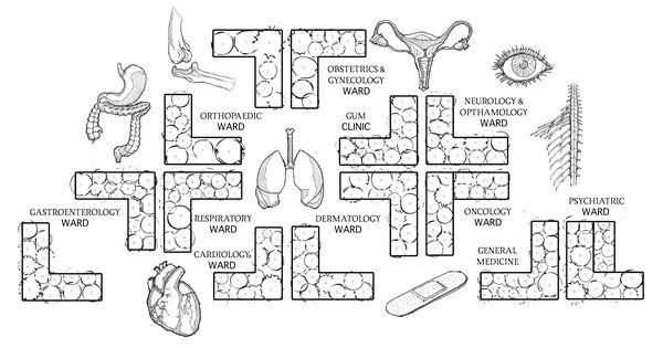 The Urban Physic Garden - an herb garden plan organized by the