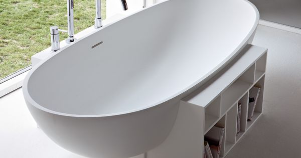 Organic Bathtubs – Egg Tub by Rexa Design Relaxing to look at