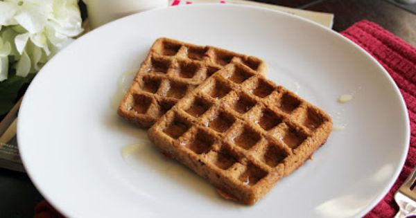 Pumpkin Garbanzo-Oat Waffles ~ The Skinny Weigh (V/GF) | Gluten free ...