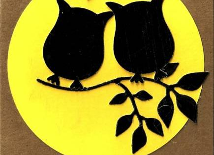 Owls Silhouette by meemee48 - Cards and Paper Crafts at SplitcoaststampersS