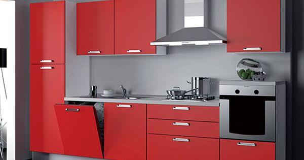 Cucina angolare moderna. prezzo completo di forno, piano cottura ...