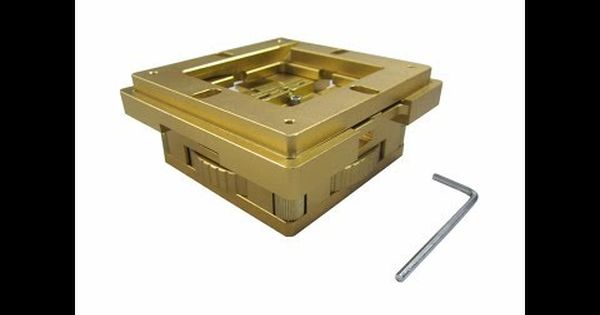 ادوات اصلاح الايسيات الشبلنه 80مل و90 مل Bga Re Balling Stencils Magnets Bga