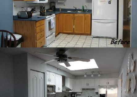 Kitchen Remodel On A Budget Diy Kitchen Before And After Kitchenreno Under 5000 Diy
