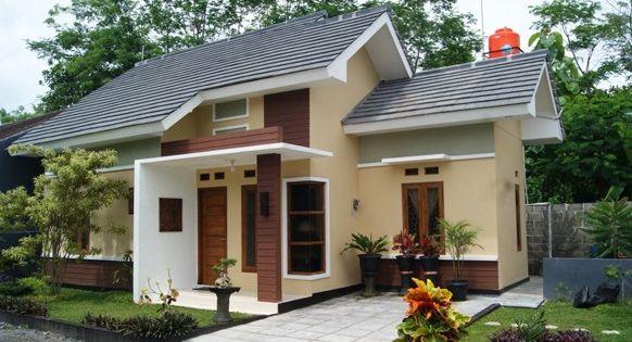 desain rumah cantik asri sederhana someday home pinterest