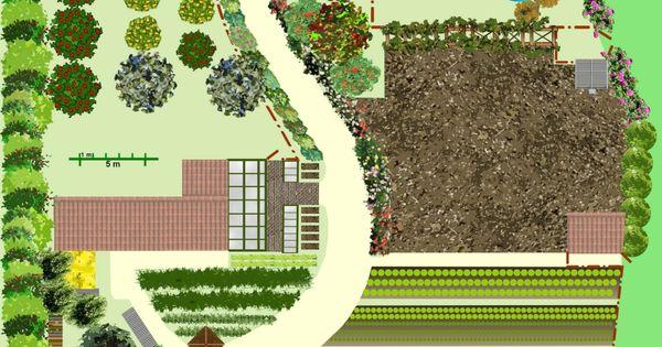 Cr er un jardin en permaculture plan jardin bio - La permaculture c est quoi ...
