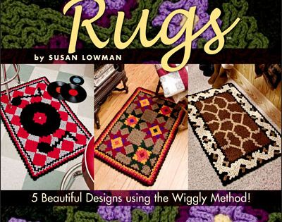 Wiggly Crochet Rugs Pattern Book Crochet Home Decor Patterns Pinterest Wiggly Crochet