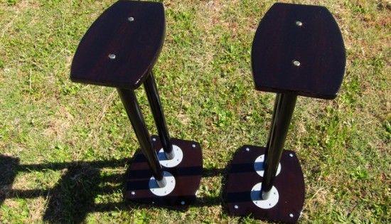 Diy Speaker Stand Using Ikea Adils Table Legs Ikea