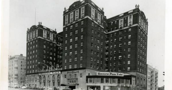 1950s The Bronx Concourse Plaza Hotel 161st Street Grand