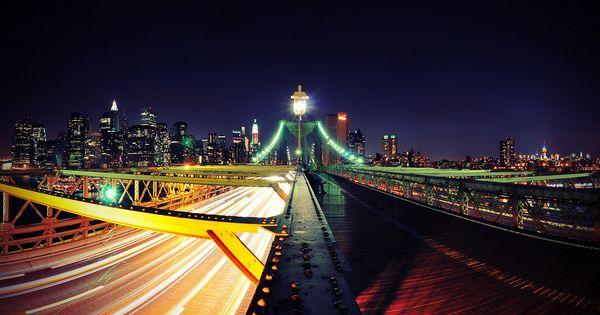 Road To New York City Http Www Pixel4k Com Road To New York City 11319 Html City Nights Road York City Wallpaper New York City Travel New York Wallpaper