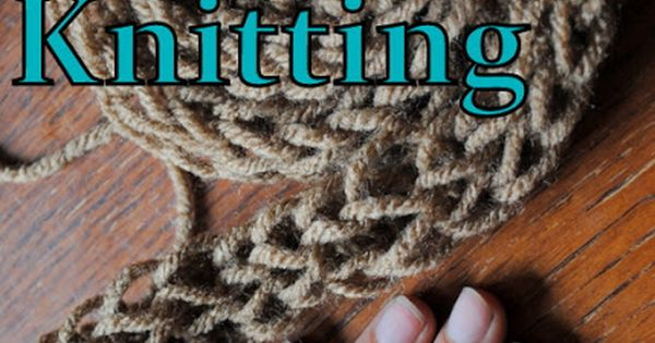 Simple Finger Knitting Tutorial {DIY} | Cookes Frontier