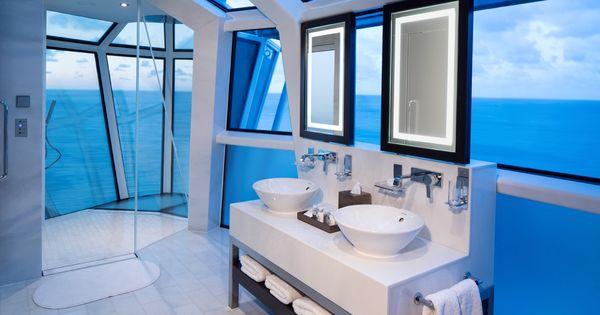 Celebrity reflection cantilever shower bench