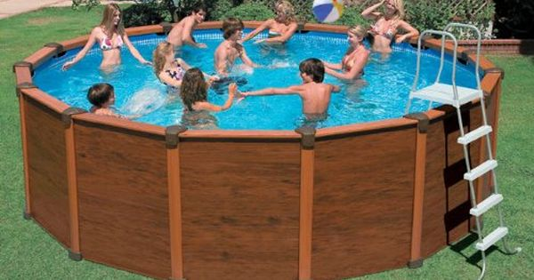 How To Disguise The Outside Of A Intex Pool Hk94 Com
