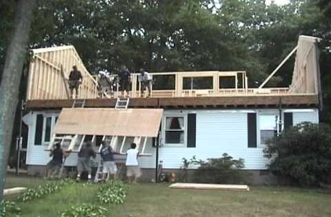 Raising The Roof In One Day For The Home
