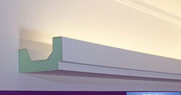 lichtprofile led stuckleisten f r indirekte beleuchtung aus hartschaum scrapbook kleiststrasse. Black Bedroom Furniture Sets. Home Design Ideas