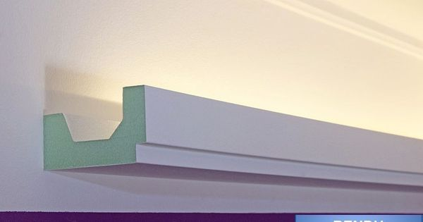 lichtprofile led stuckleisten f r indirekte beleuchtung. Black Bedroom Furniture Sets. Home Design Ideas