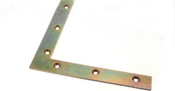 Flat Corner Brace Bracket 150mm X 22mm X 2 7mm 5mm Hole Yzp Pck 50 By Onestopdiy 120 47 Corner Brace Home Hardware Bracket