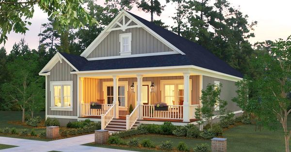 Small House Plans One Story: This Little Charmer Will Enchant You. It Is A One Level, 3