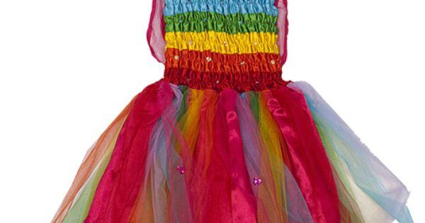 Fairy Girls Rainbow Dress: A twirly dress to love. Dress Girls Fairy_Dress