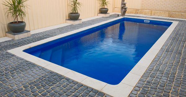 Plunge Pool Fibreglass Swimming Pools Range Wa Fibreglass Pools Backyard Bliss Pinterest