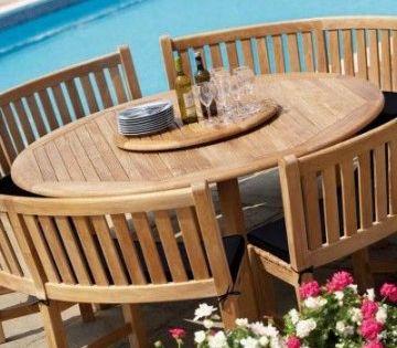 43 Trendy Garden Table Round Round Outdoor Dining Table Garden Table And Chairs Round Outdoor Table
