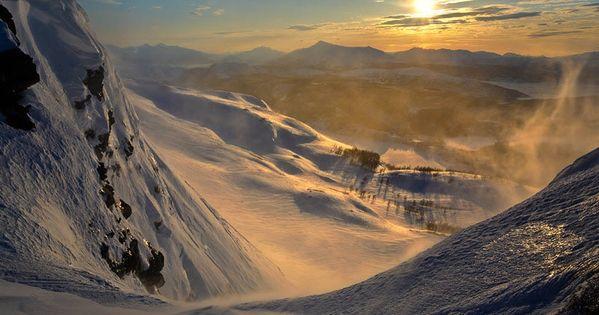 Mountain Sunset By Arild Heitmannunset