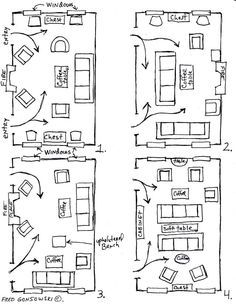 Arranging Furniture In A Long Room 12 Different Ways