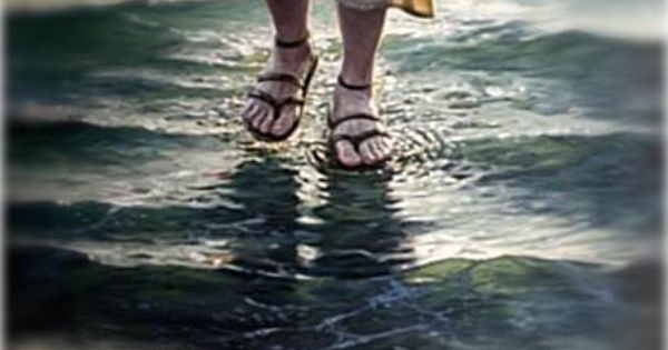 He Walked On Water. He Is Our Father, Maker,Savior,And He