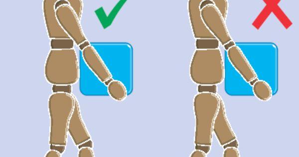 Correct Carrying Posture Manual Handling Train Manual