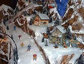 Christmas Village Platforms.Christmas Village Platform Building Photo Gallery Of