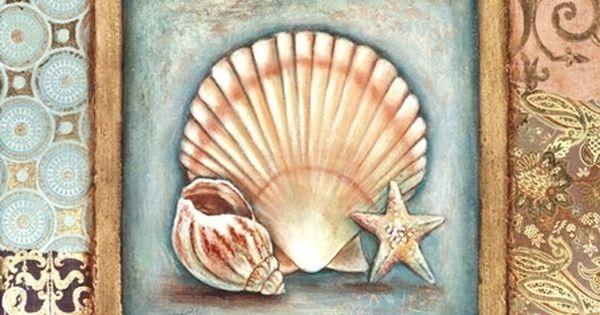 Ocean Treasures 1 Carol Robinson Laminas Decoupage