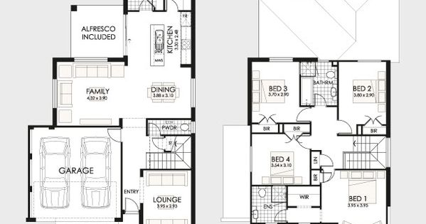Planos de casas de dos pisos duplex design house and powder room for Duplex plans for seniors