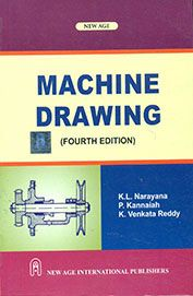 Engineering Machine Drawing Book By K L Narayana Mechanical