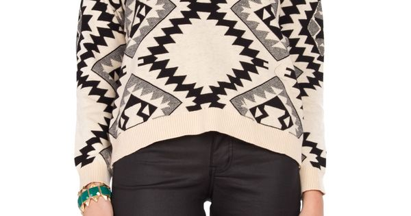 in love with the aztec pattern